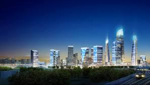 100 Landmark International Trucks SOM Beijing Dawangjing CBD Concept Master Plan
