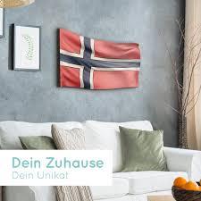 norwegen flagge als le aus holz schenke deine
