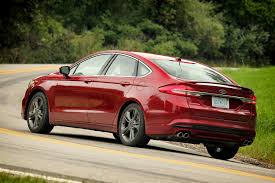 2017 ford fusion refreshed for detroit adds 325 hp v6 sport model