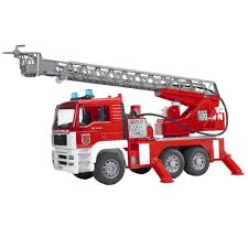 Amazon.com: Bruder MAN Fire Engine: Toys & Games