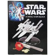 wars x wing knife block