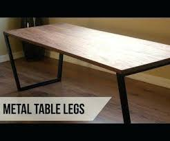 Metal Table Legs Diy Dining