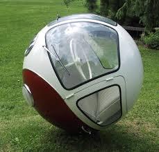 Volkswagen Bus Ball Sculpture  Funny Bizarre Amazing