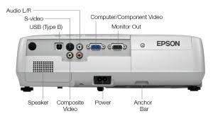epson ex21 multimedia projector electronics