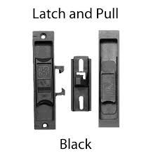 Peachtree Patio Door Replacement by Peachtree Screen Door Handle W Strike Black A 189 Door