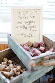 Bulbs Is A Natural Favor Option For Spring Nuptials Weddingfavors Springwedding DIY