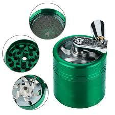 sonstige aluminium 4 layer 40mm grinder crank mill