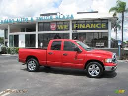 2003 Dodge Ram 1500 SLT Quad Cab In Flame Red - 350920 | Truck N' Sale