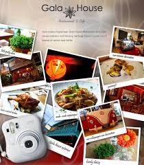 cuisine gala gala house restaurant cafe serves a myraid of delicious and