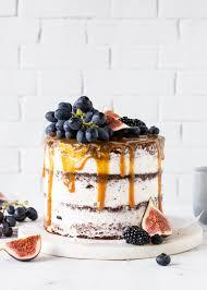schokoladen trauben torte