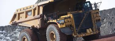100 Mining Truck Cabless Haul Truck Approaching Journal