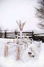 Winter And Birch Tablescape Perfect For A Holiday Party