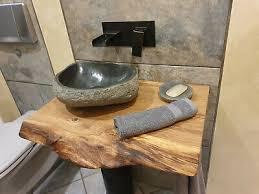 holz tischplatte waschtischplatte waschtischkonsole