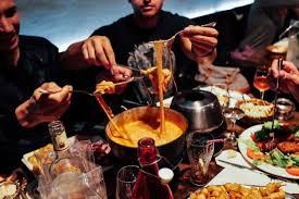 fondue savoyarde picture of la maisons des fondues aix en