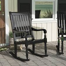 August Grove Oisin Porch Rocking Chair & Reviews | Wayfair