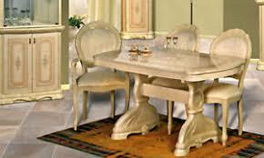 details zu esstisch esszimmer tisch ausziehbar 200 50 bis 10 personen beige hochglanz möbel