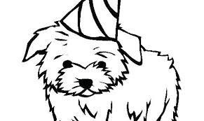 Dog Coloring Pages Free Puppy Beagle Complete Realistic
