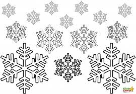 13printablecoloring Snowflake Color Page Sheet Coloring Pages