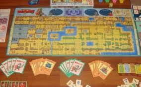 The Board Emulates Map From Console Game