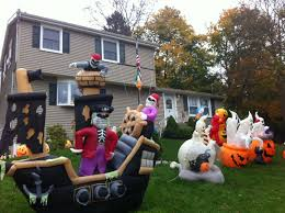 Halloween Inflatable Archway Tunnel by Outdoor Inflatable Halloween Decorations