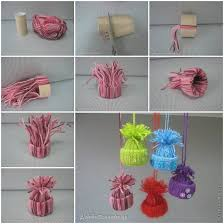 Craft Easy To Make DIY Yarn Winter Hat Ornaments Find Fun Art Projects Nice Ideas Beautiful