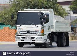 CHIANG MAI, THAILAND - APRIL 5 2018: Private Hino Dump Truck. On ...