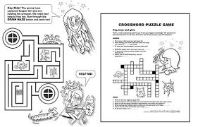 Coloring Activity Book Games