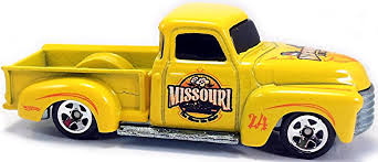 100 52 Chevy Truck H Hot Wheels Newsletter