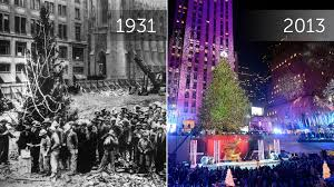 Rockefeller Plaza Christmas Tree Lighting 2017 by Rockefeller Christmas Tree Then And Now Today Com