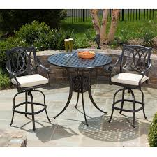 Bar Height Bistro Patio Set by Alfresco Home Rimini 42in Round Bar Height Bistro Set Westwood