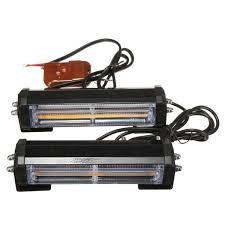 100 Strobe Light For Trucks Pair Amber COB LED Car Off Road Vehicle ATVs Truck Emergency Warning