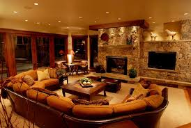 Living Room With Fireplace And Bookshelves by Rustic Living Room With Built In Bookshelf By Cd Construction
