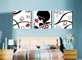 Awesome Paintings For Bedroom Decor Abstract Painting People