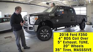 2016 Ford F350 Super Duty Diesel W/ 4 Inch BDS Coil Over Spring Lift ...