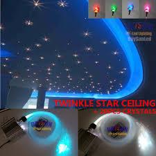 Fiber Optic Ceiling Lamp by Led Fiber Optic Star Twinkle Ceiling Light Engine 10w Rgbw 28key