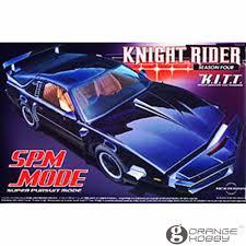 OHS Aoshima 04355 1/24 Knight Rider KITT SPM Mode Scale Assembly Car ...