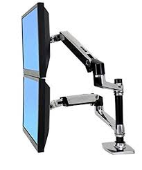 Monitor Stands For Desk by Amazon Com Halter Dual Lcd Adjustable Monitor Stand Dual