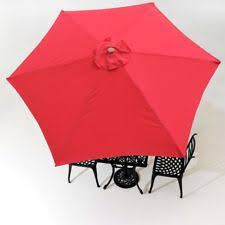 Patio Umbrella Canopy Replacement 6 Ribs 8ft by World Market 5 Ft Patio Umbrella Replacement Canopy Red Outdoor