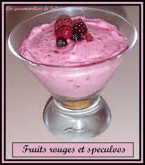 dessert aux fruits rapide verrine fruits rouges et spéculos recette