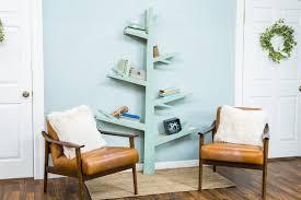 100 Tree Branch Bookshelves How To DIY Bookshelf Hallmark Channel