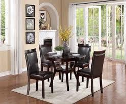 amazon com homelegance shankmen round 5 piece dining set