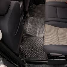 Husky Liner Weatherbeater Floor Mats by Husky Liners Classic Style 1995 2000 Tahoe Yukon Front Rear Row