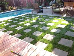 Artificial Grass With Pavers. | Home - Diy | Pinterest | Grasses ... Long Island Ny Synthetic Turf Company Grass Lawn Astro Artificial Installation In San Francisco A Southwest Greens Creating Kids Backyard Paradise Easyturf Transformation Rancho Santa Fe Ca 11259 Pros And Cons Versus A Live Gardenista Fake Why Its Gaing Popularity Cost Of Synlawn Commercial Itallations Design Samples Prolawn Putting Pet Carpet Batesville Indiana Playground Parks Artificial Grass With Black Decking Google Search