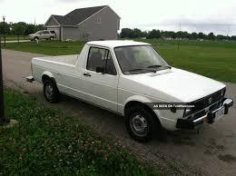 1980 Volkswagen Diesel Rabbit Caddy Pickup Truck