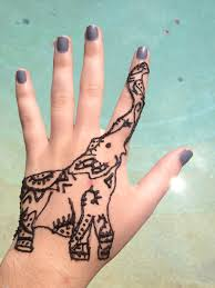 Henna Tattoo Simple Hand 15 1e32ed6da3e14b5b2f293b9bdea1b06d