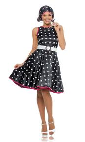Womens 1950s Retro Costume
