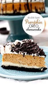 Pumpkin Layer Cheesecake by Double Layer Pumpkin Oreo Cheesecake Carlsbad Cravings