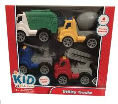 Amazon.com: Kid Connection - Utility Trucks: Toys & Games