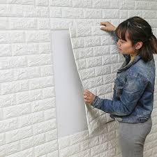 DIY Self Adhesive 3D Wall Stickers Bedroom Decor Foam Brick Room Wallpaper Living Sticker For Kids In From Home
