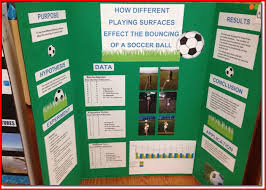 Sample Science Fair Project Layouts